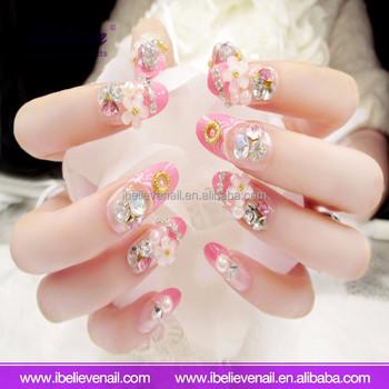 Diy Custom Glitter Designs Sexy Fingers Wraps Nail Art Decorations