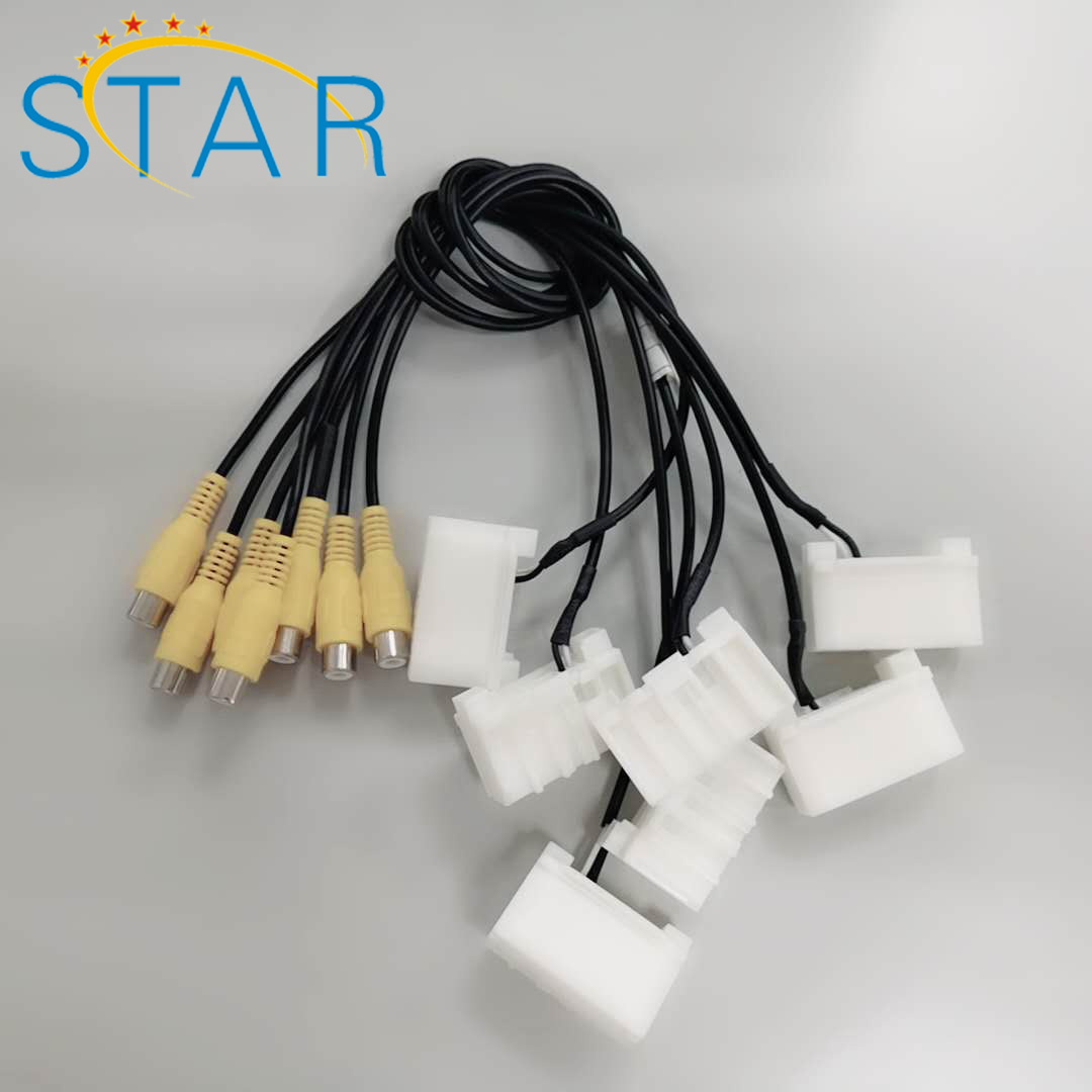 Custom Audio Car Stereo Gps/iso/radio Rca Wiring Harness With Female on license plate bracket for jeep, steering column for jeep, hood for jeep, relay for jeep, fuse box for jeep, front bar for jeep, filter for jeep, gauges for jeep, sway bar for jeep, suspension for jeep, fuel injection kits for jeep, neutral safety switch for jeep, backup lights for jeep, lightbar for jeep, battery box for jeep, antenna for jeep, water pump for jeep, kill switch for jeep, timing chain for jeep, windshield for jeep,