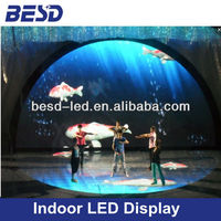High refresh P10 indoor smd led stage dance floor