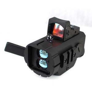 red dot sight tactical equipment shooting sight riflescope with rangefinder