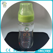 IBECARE Hot sale BPA free glass baby bottles adult breastfeeding baby bottle