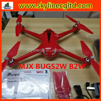 MJX Bugs 2W B2W RC Quadcopter 2.4G 6-Axis Gyro with GPS Brushless Motor RC Drone With WIFI 1080P HD Camera RC Helicopter Toys