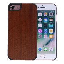 Manufacturer mobile phone accessories natural wood carbonized bamboo Handmade Wooden Blank Cover Case