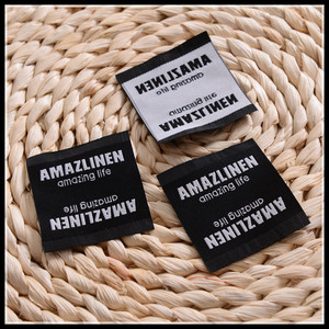 Top Sale Guaranteed Quality Custom Woven Labels For Clothing, labels for clothes