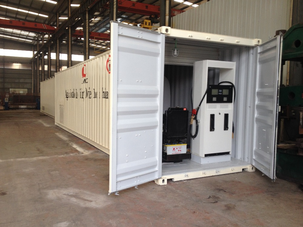 20ft Iso Portable Diesel Tank Container Double Wall Farm