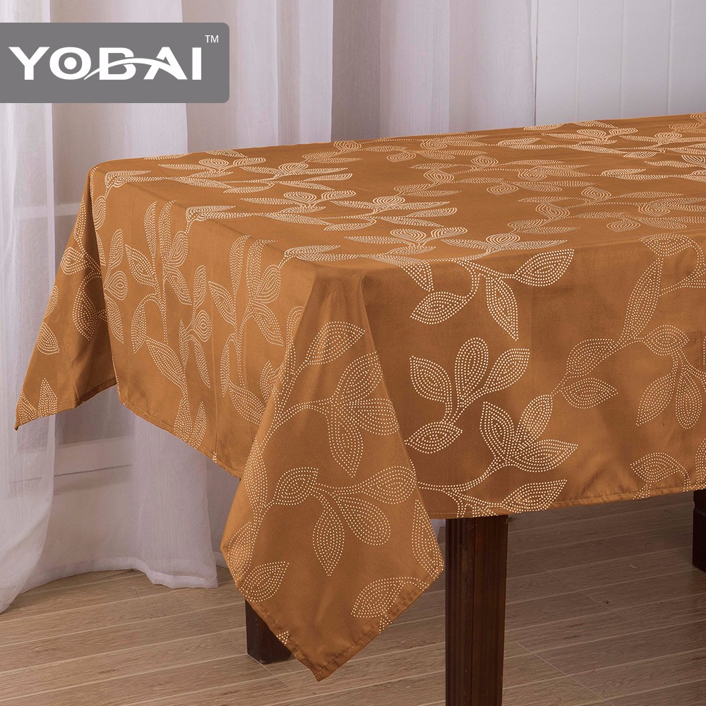 German Tablecloth Jaipur Hand Block Print Printed Polyester Cloth Table