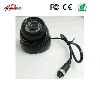 Ahd car camera 1080p 2 million pixel monitoring probe ntsc/pal system built-in voice