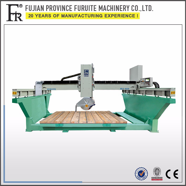 high speed granite and marble concrete slab cutting machine