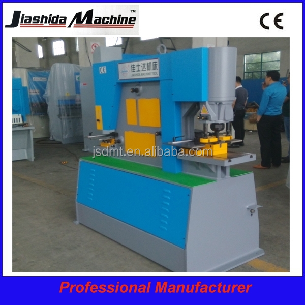 Q35Y-16 Steel iron worker/Hydraulic iron worker/shearing and punching machine