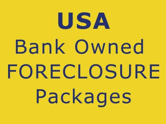 USA Real Estate REO Banks Foreclosures services