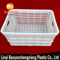 Plastic Fruit And Vegetable Storage Crate Turnover Box