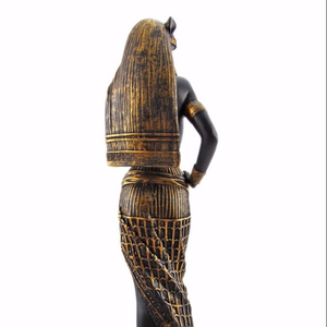 10.75 Inch Flirty Bastet Egyptian Mythological Goddess Statue Figurine