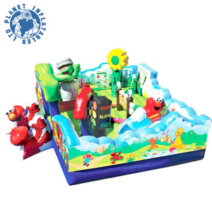 Theme Design Cheap Inflatable Playground For Sale