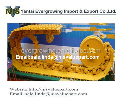 Shantui SD32 Swamp Track Shoes for Excavators and Bulldozers