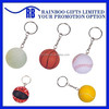 Hot selling Eco-friendly logo printed cheap Pu foam ball keychain for promotion