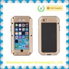 Christmas Sale Silicon Metal Gorilla Glass Waterproof Case for iPhone 6