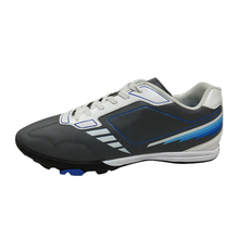 New style men indoor black cheap soccer shoes