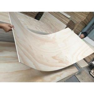 High-grade furniture birch/pine plywood without Knots