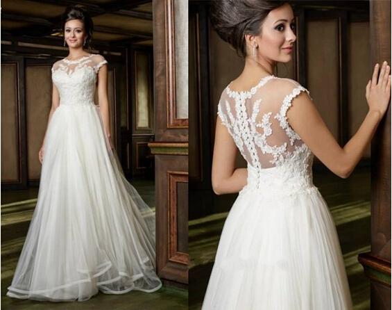 Simple Wedding Dresses Plus Size: Popular Plus Size Gothic Wedding Gowns