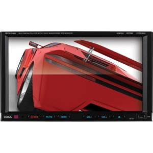 """Boss Bv9755 Car Dvd Player . 7"""" Touchscreen Lcd . Double Din . Dvd Video, Mp4, Video Cd, Mpeg, Avi . Am, Fm . Secure Digital (Sd), Multimediacard (Mmc) . Auxiliary Input . 2 X Usb . 800 X 480 . Ipod/Iphone Compatible . In. Dash """"Product Type: Automotive & Marine Audio/Video/Automotive & Marine"""