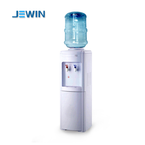 Bottle top loading hot and cold water dispenser