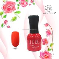 2016 Mengni fashion colorful gel nail polish 046