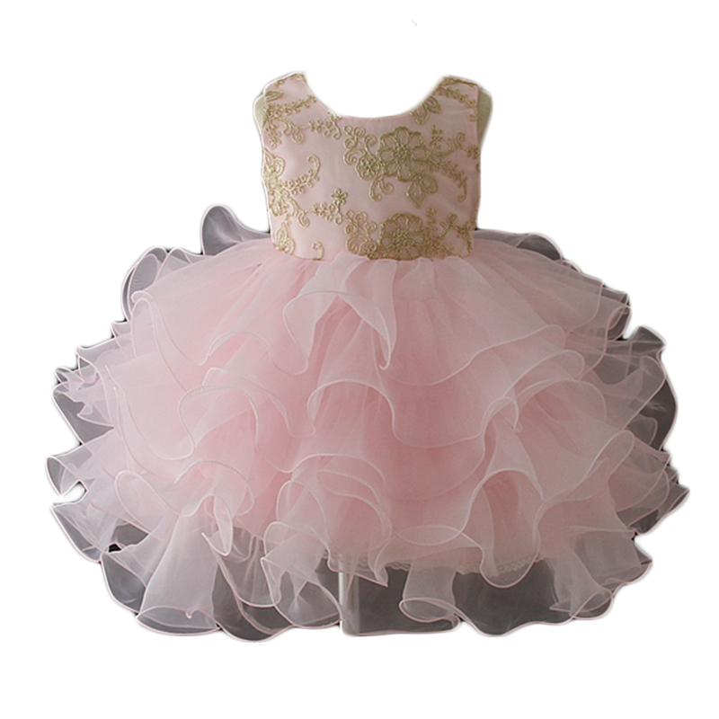 2019 baby girl party flower dress children frocks designs one year baby party dresses baby dress фото