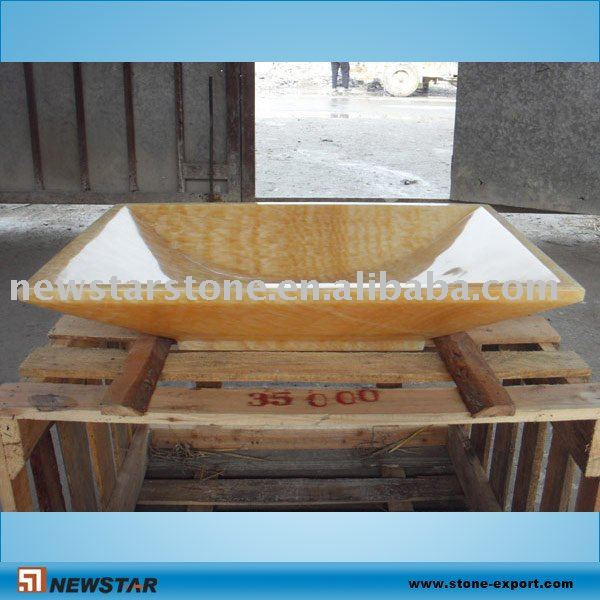 Honing onyx stenen wasbak kunst wastafel badkamer wastafels product id 317377958 - Stenen wastafel ...
