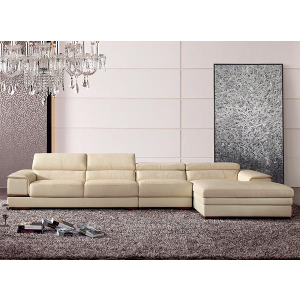 New Design Antique Divan Leather Sofa