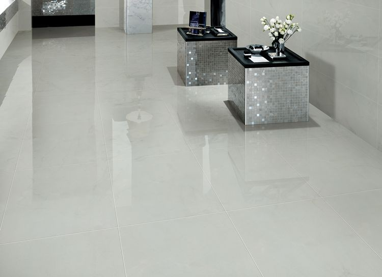 Sunnda Light Gray Porcelain Spanish Floor Tilepolished Porcelain
