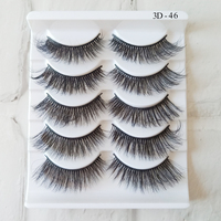 Premium Quality 3D Faux Mink Eyelashes Custom Packaging Private Label Eyelashes