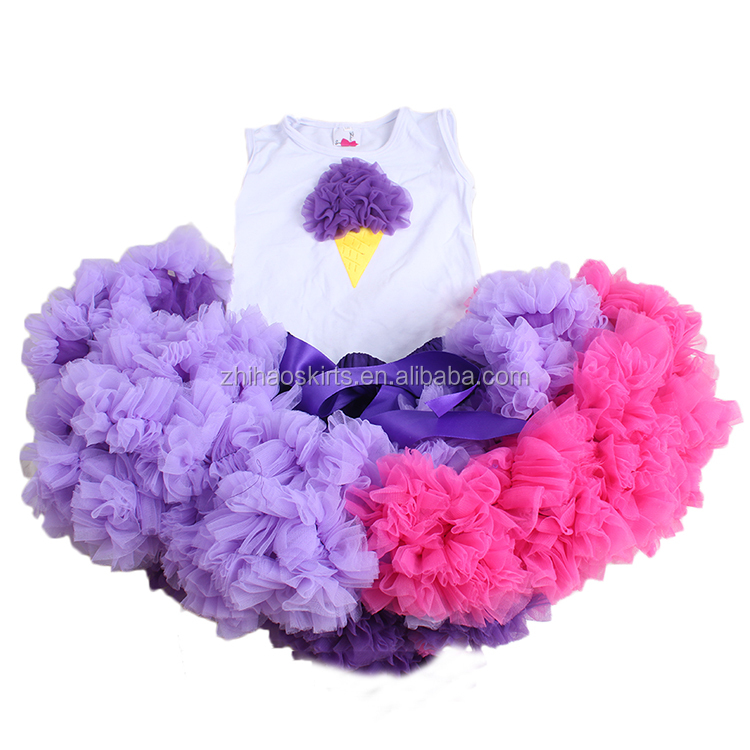 princess dance birthday wear customized colors cute baby fluffy tutu skirt
