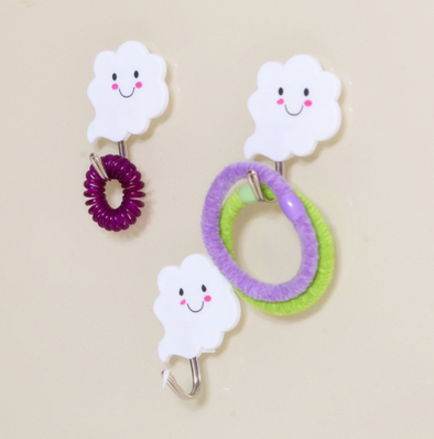 Wholesale Stock 2016 New Arrivals Smile Clouds Strong Adhesive <strong>Hook</strong>