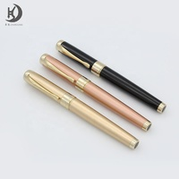 New unique design more popular metal fountain pen with customized logo