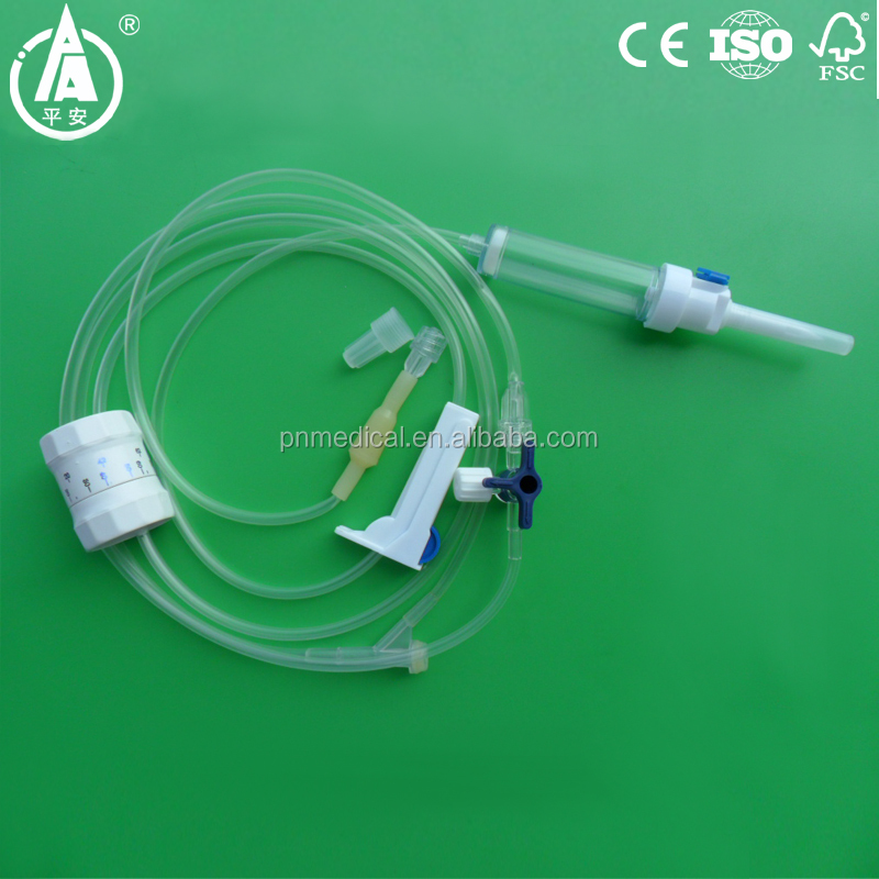 IV infusion set with high precision flow regulator with micro regulator