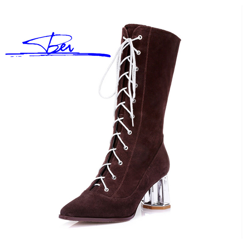 J080 Women Boots 2015 Winter Warm Fashion European Genuine