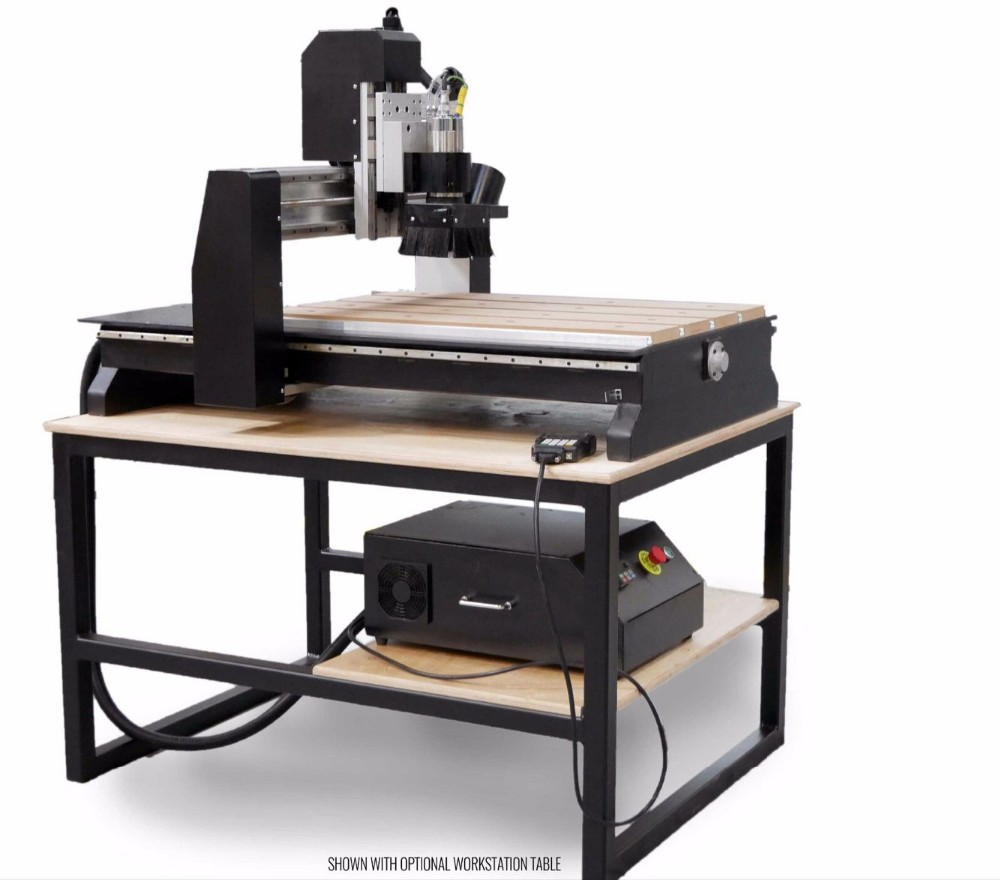 3 assige cnc hout router 6090 frezen mini machine met DSP controller
