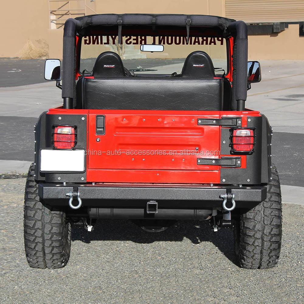 87-06 Jeep Wrangler Tj, Yj Classico Paraurti Posteriore