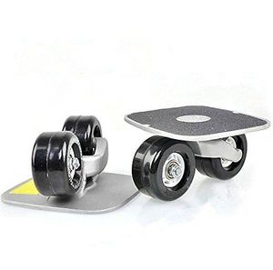 Portable freeline drift skate board drift skate plate anti-slip board