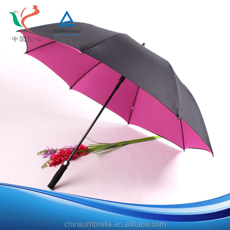 New hot selling products 190T cloth density the cost of a subway golf umbrella