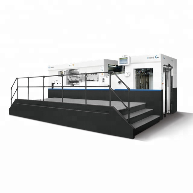 Superior And Stable Die Cutter With Stripping C106Q Cutting Machine