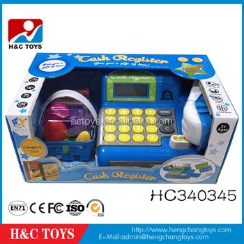 Pretend Play Supermarket Games Kids Cash Register Toy For Sale