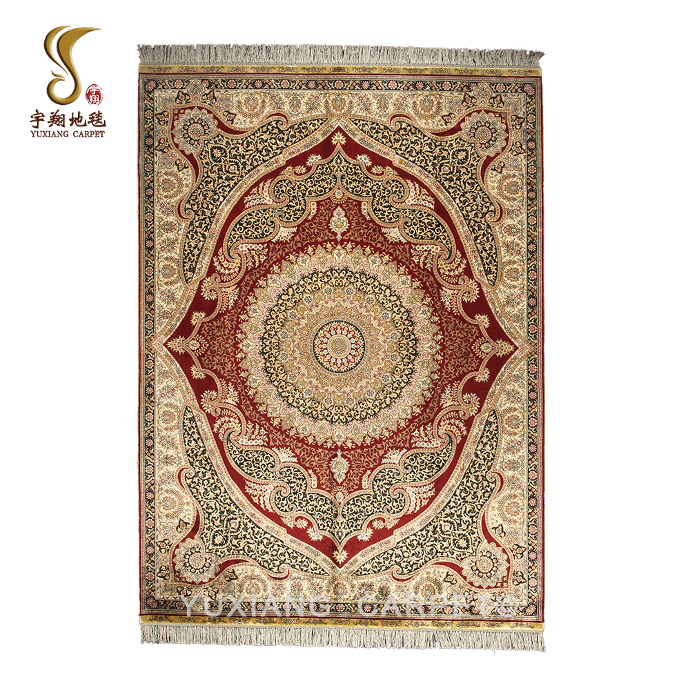 Yuxaing 5x7ft Used Persian Rugs For Handmade Hereke Silk Carpets