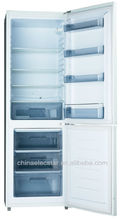 combi no frost refrigerator freezer with white color