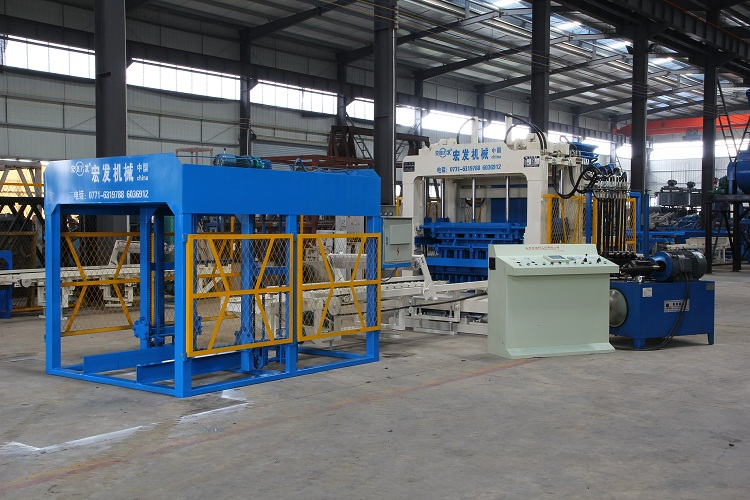 Big Capacity Automatic Concrete Block Making Machine