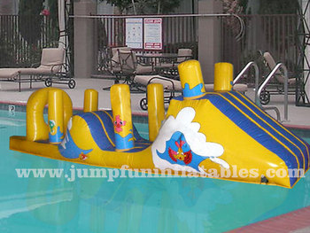 Swimming Pool Games Inflatable Water Challenge Floating Aqua Obstacle Course For Kids Buy