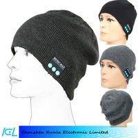 Bluetooth 4.2 Beanie Hat Wireless Washable Knit Cap Winter Hats With Built in Stereo Speakers Headphones
