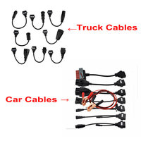 Full set Truck and car cable For TCS CDP PRO Series 8 piece diagnotic tool connecter with factory price