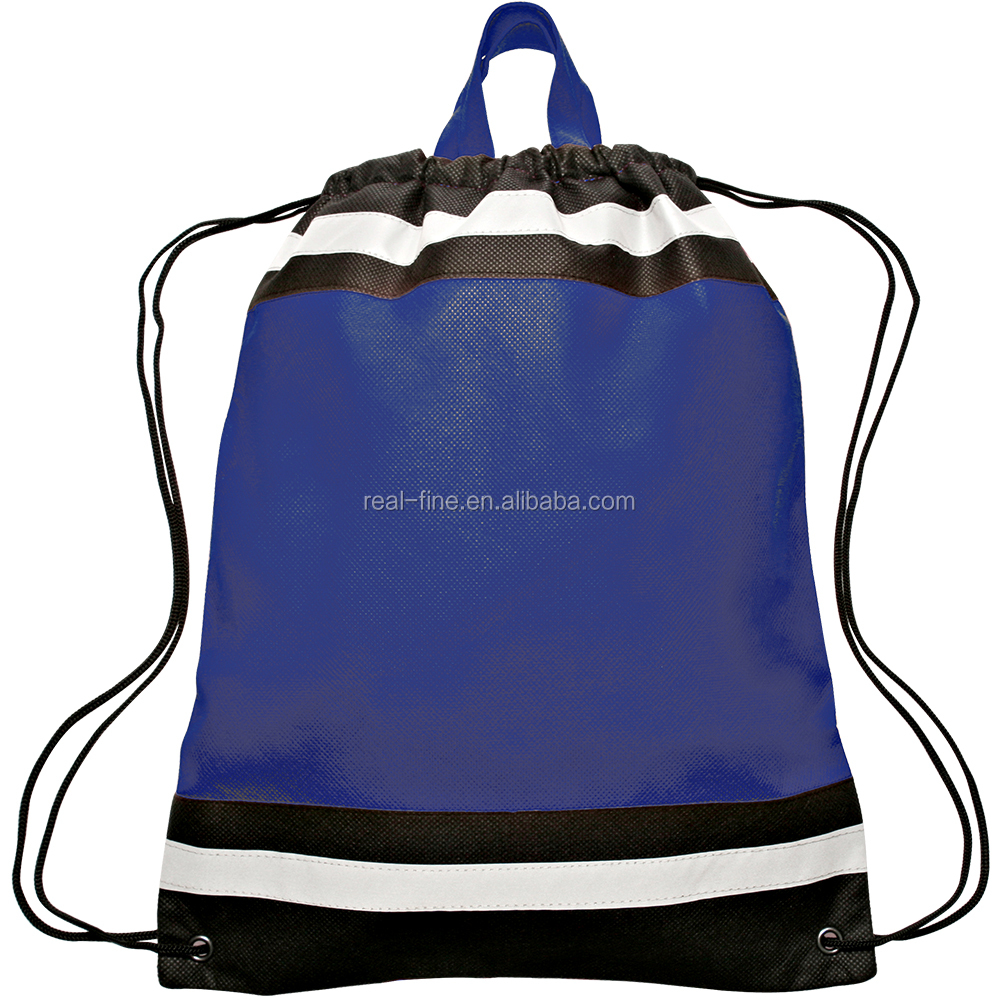 Small Non-woven Reflective Sports Packs Backpacks