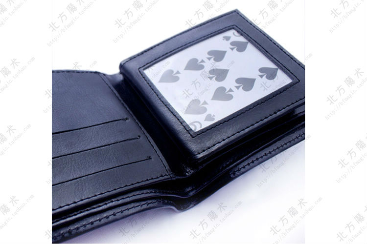 FIRE FLAMING WALLET--Magic- tricks Beifang Magic - FIRE FLAMING wallet, Magic prop